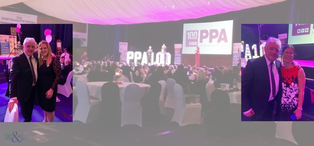 Commercial Property advisors meet Kevin Keegan at Portsmouth Property Association Centenary Dinner in March 2020.